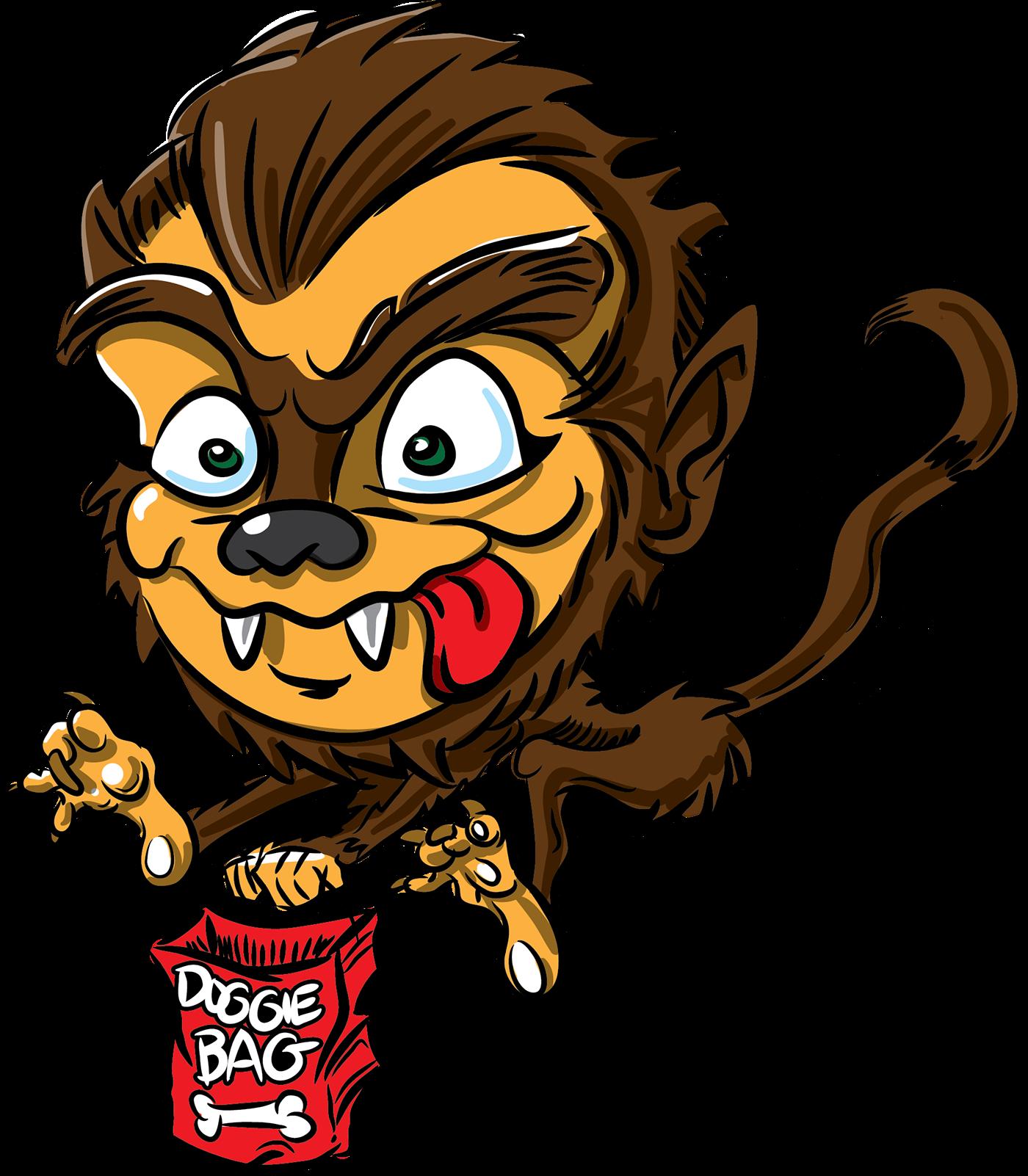 mummy Werewolf frankenstein dracula toon cartoon funny cute