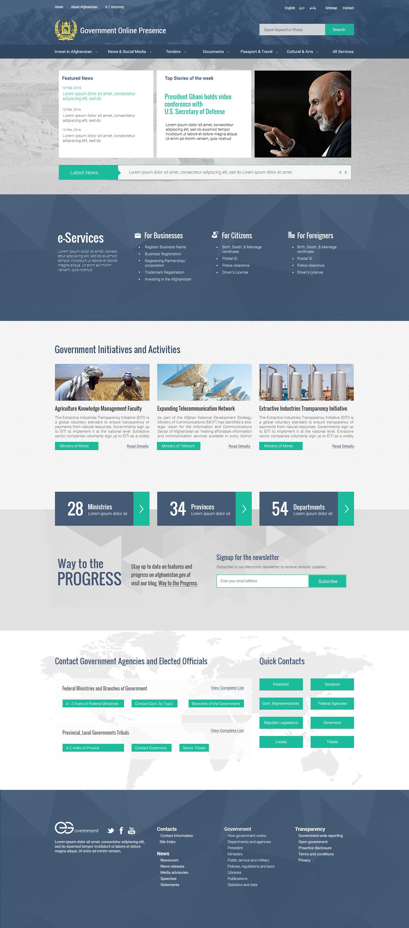 designing Ecommerce goverment Web Design  web designing web development