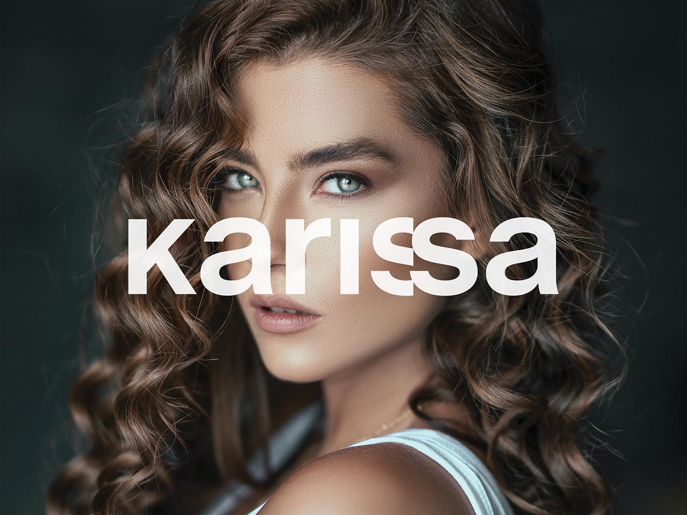 beauty beauty salon Fashion  Hair Salon hairdresser Hairstylist logo Logotype modern woman