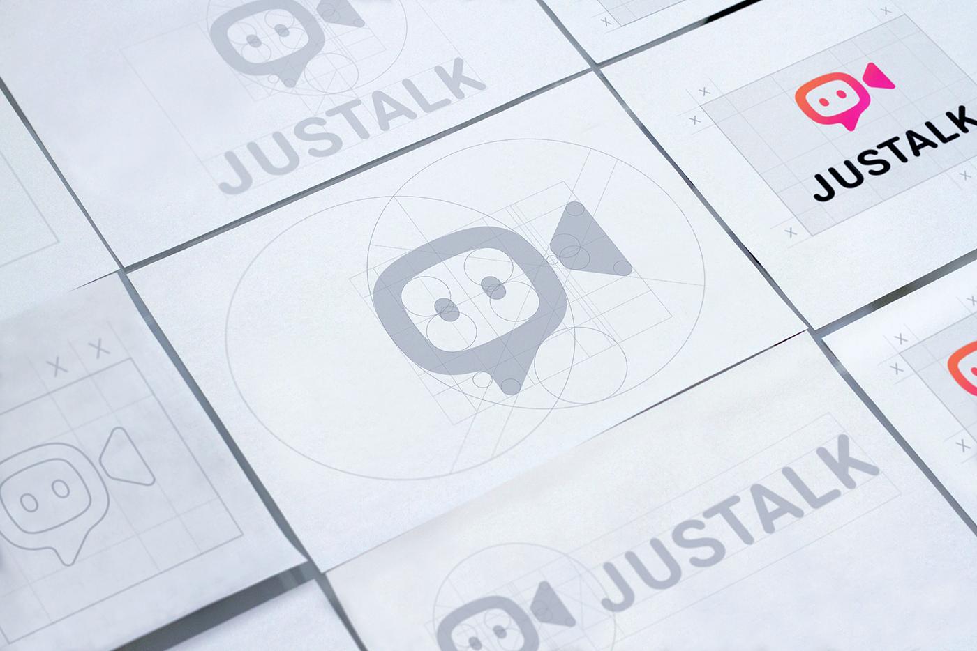 visual identity UX UI Application Design Logo Design brand identity sketches Pictogram Set guideline brandbook