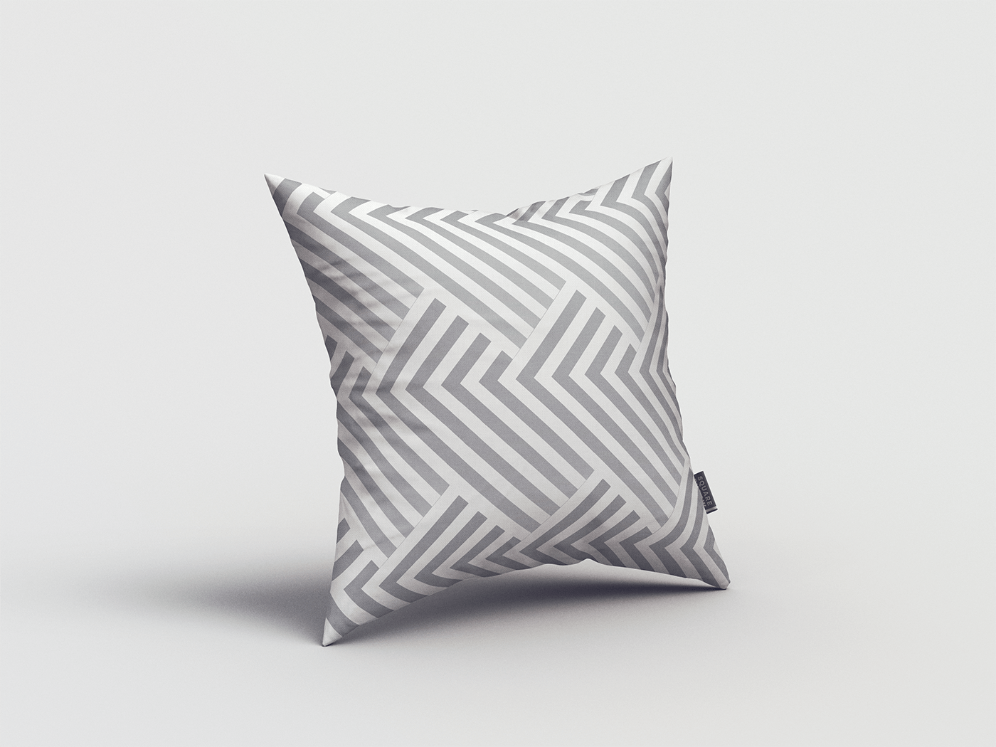 Mockup pillow psd free freebie square c4d