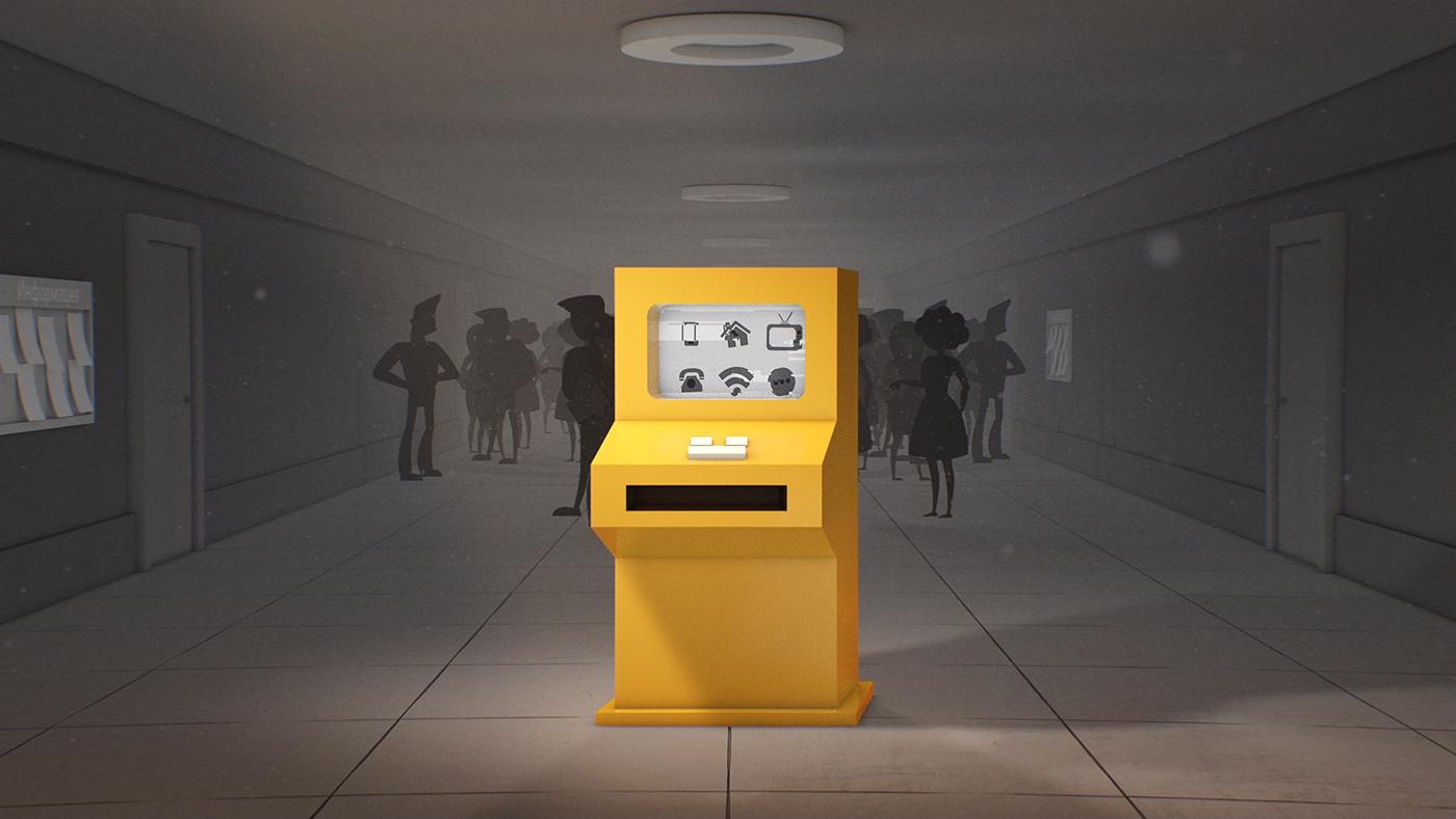 motion explainer commercial 3D video 2D Pay skilz online service design Volume