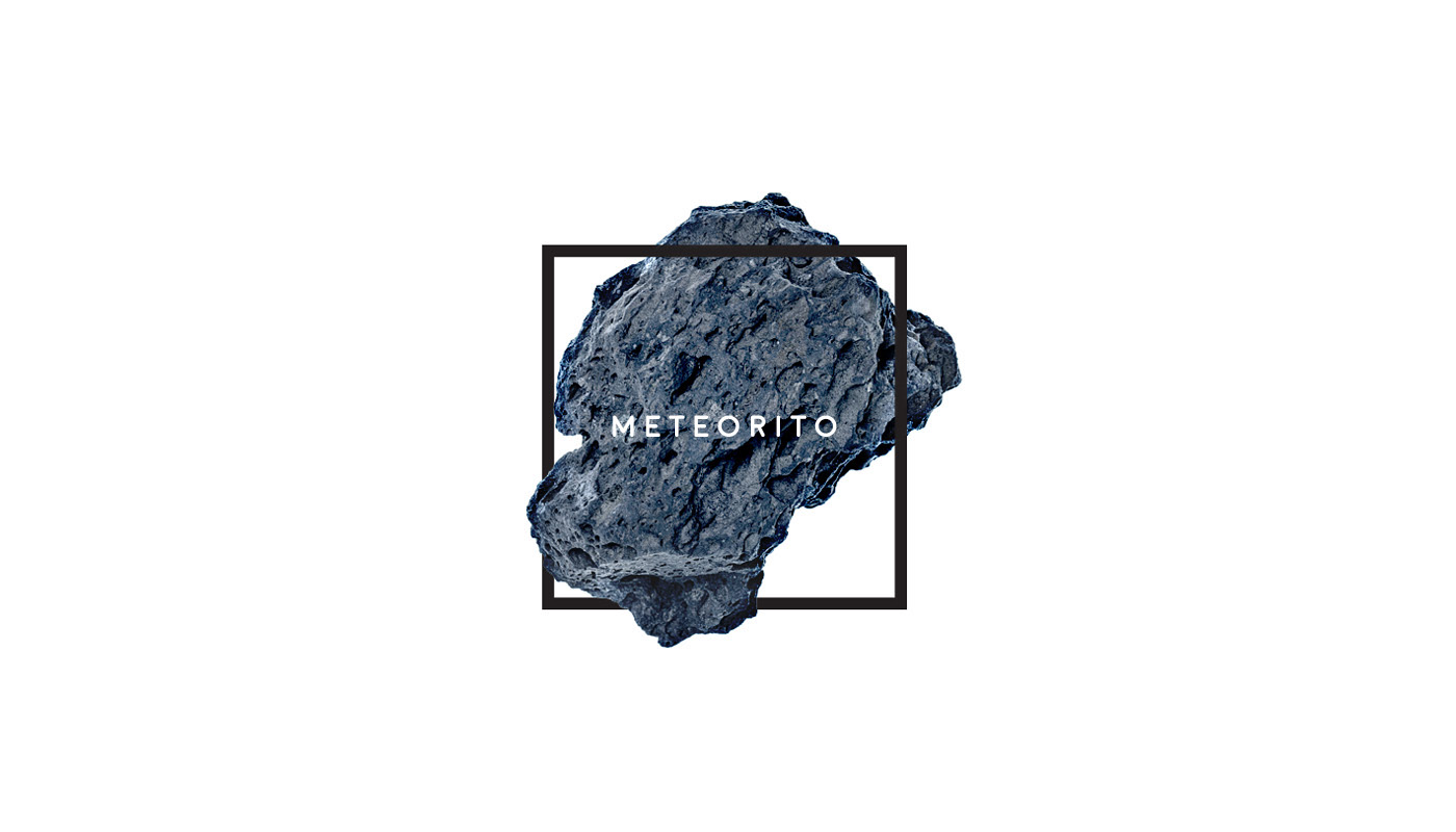 Meteorito: Meteorito On Behance