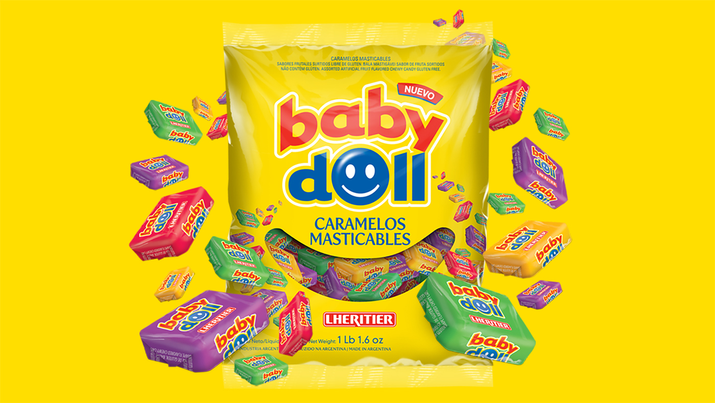caramelos Candy yellow smile sweet amarillo Packaging