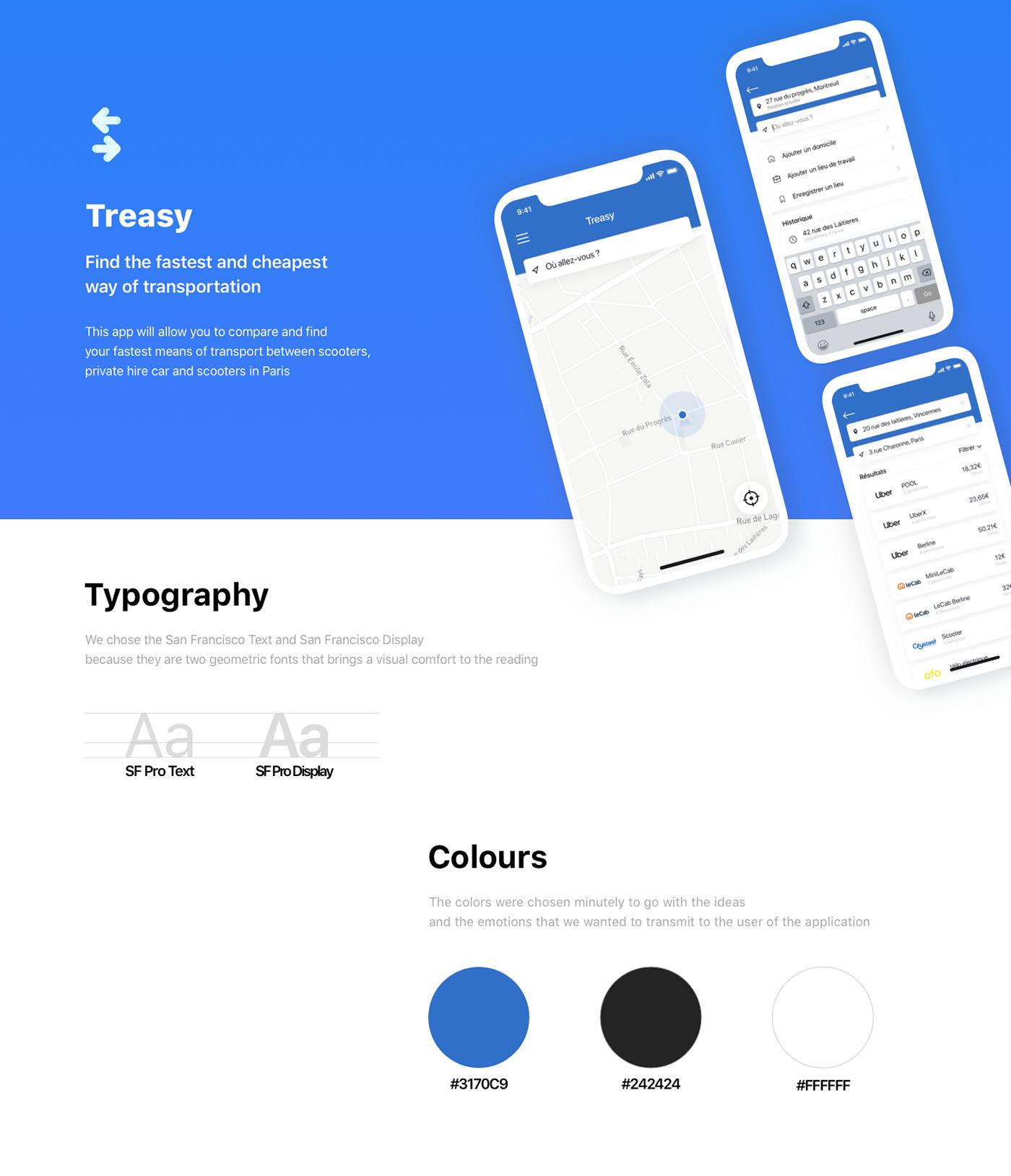 app,ios,School Project,design UI/UX,sketch,VTC,Uber