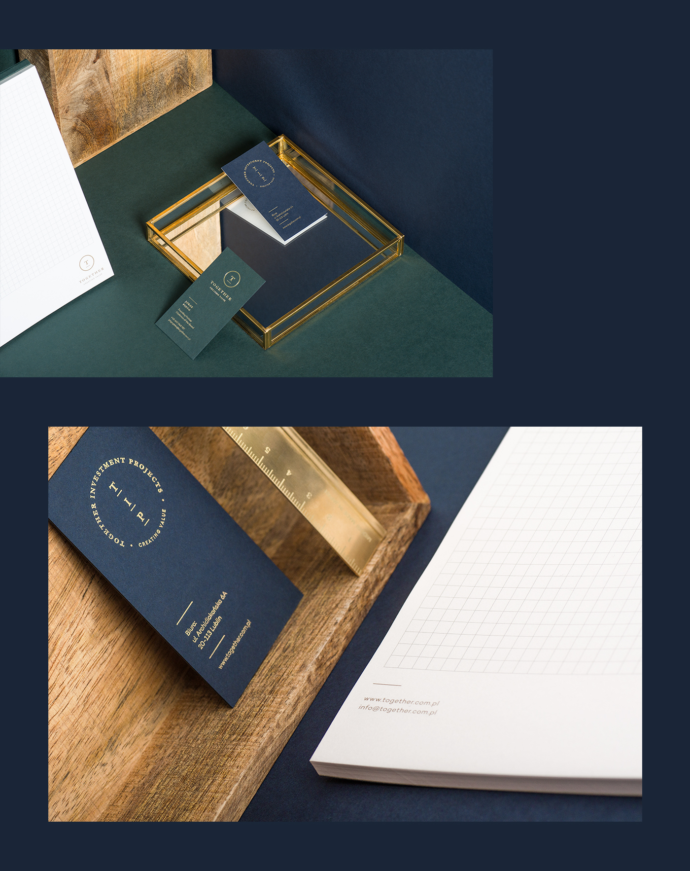 branding  logo Stationery security partnership trust Investment gold hotstamping business