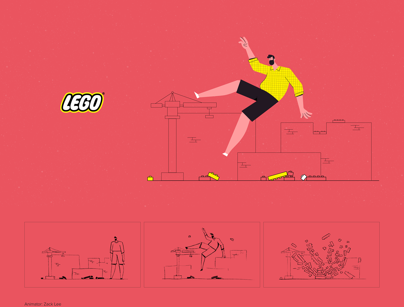 motion Motiondesignschool aftereffects animation  ILLUSTRATION  brand logo motiondesign Character