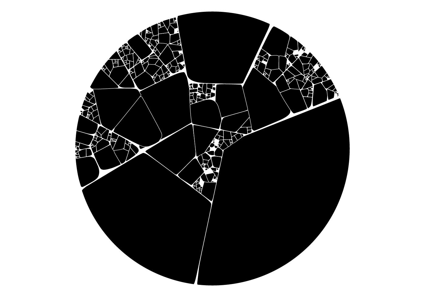 programming  algorithmic code generative algorithm 2D svg Fracture glass