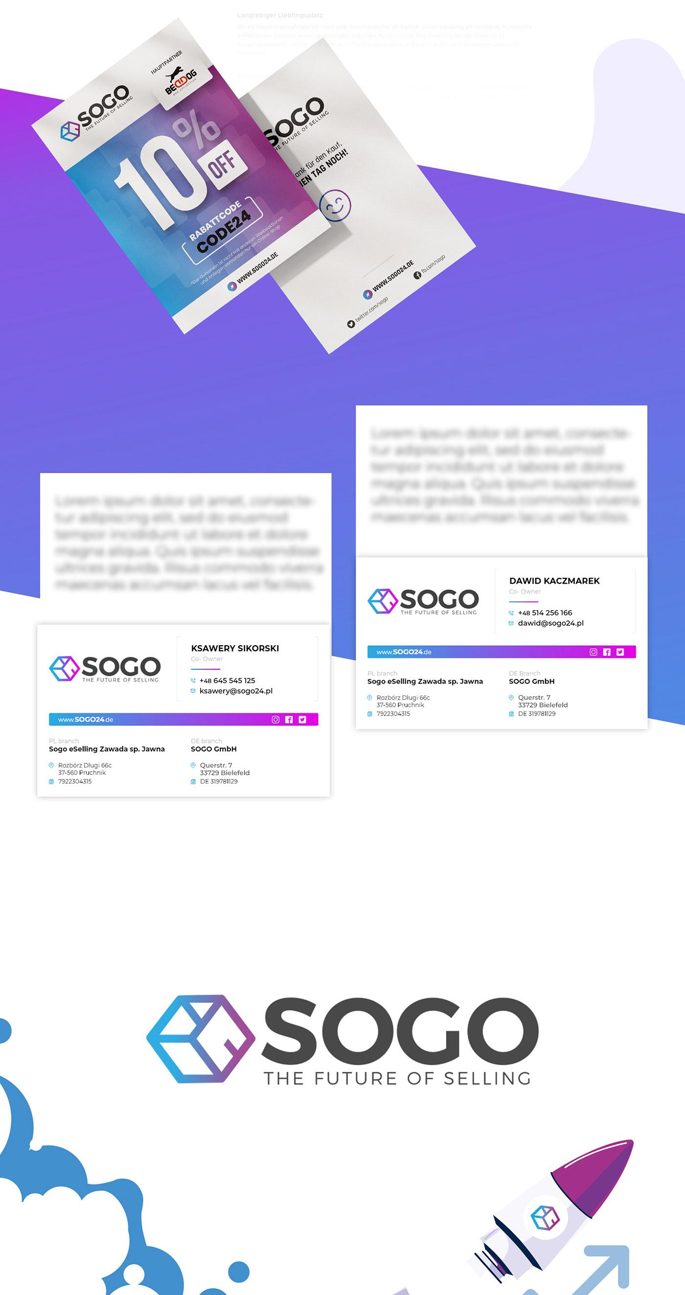 business card, catalog