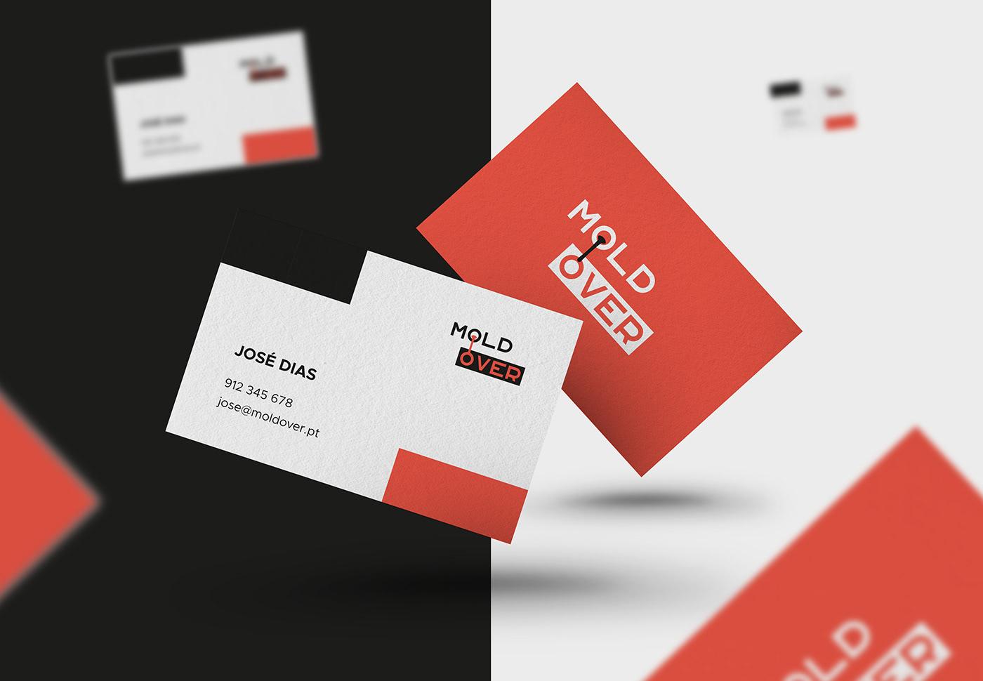 business card card design graphic design  moldover