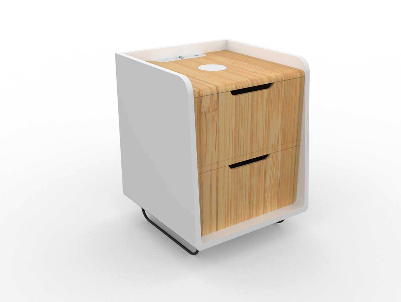 有美感的21張床頭櫃設計欣賞