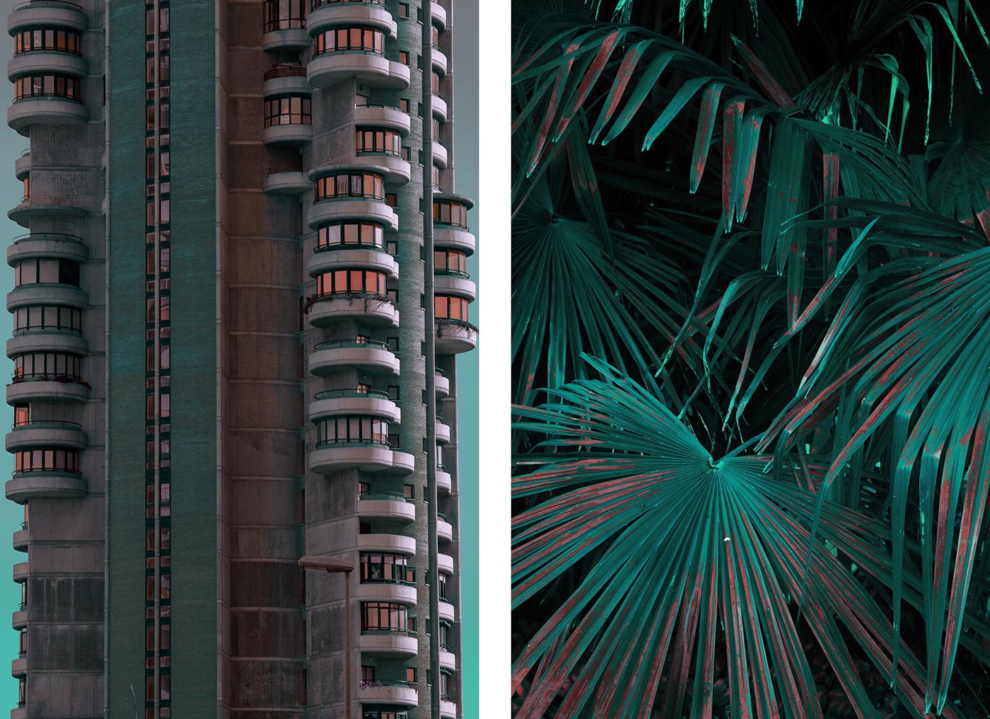 minimal Minimalism color Landscape diptych art photography surreal symbolism architecture Nature