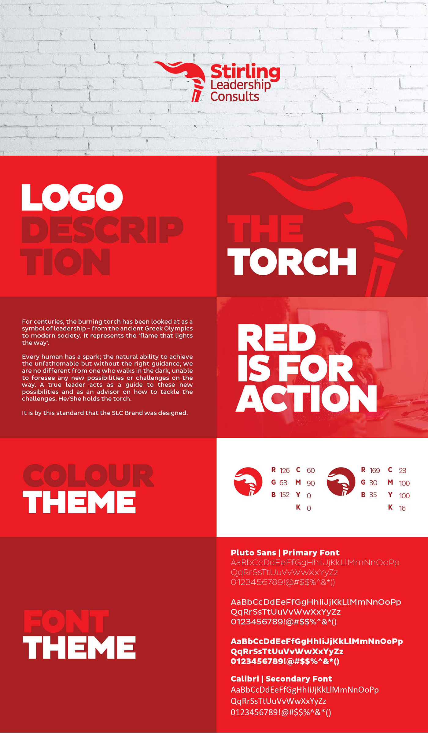 Stirling Leadership Consults Brand Identity on Behance