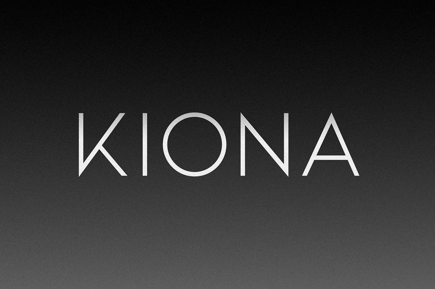 KIONA - Font Family (Free Download) on Behance