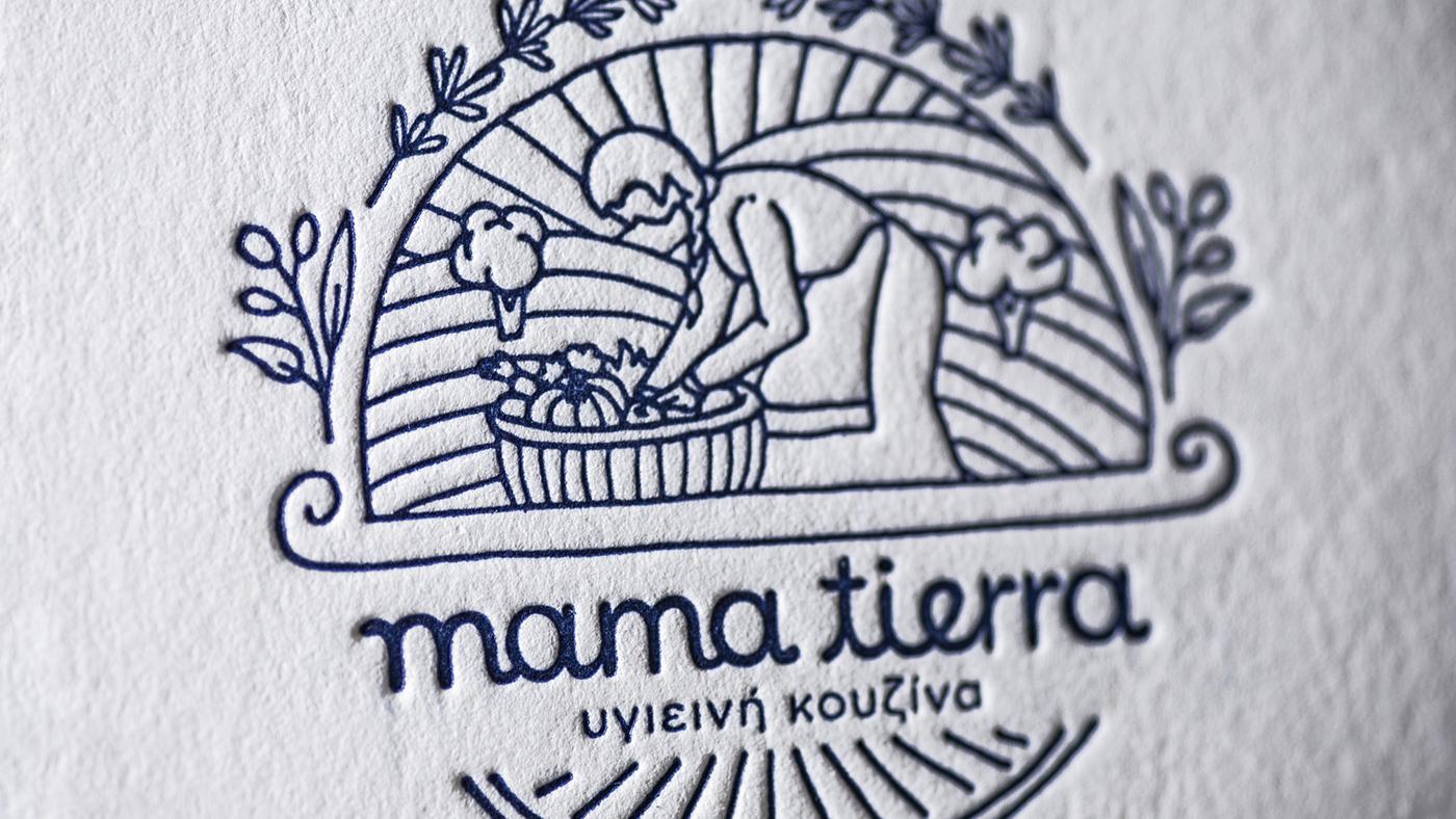 identity logo healthy food
