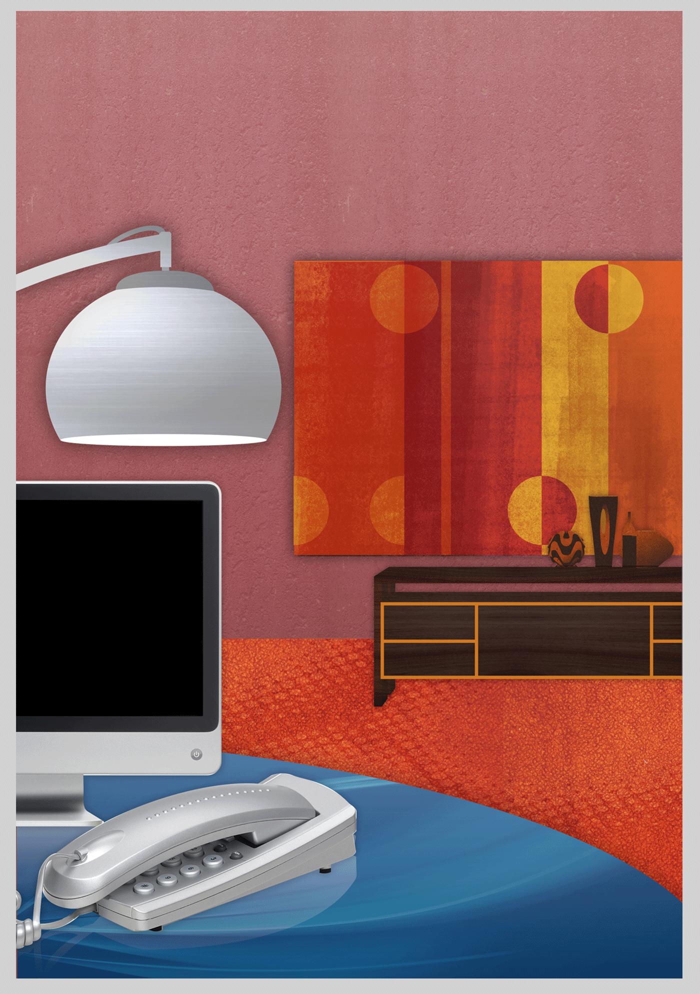 architecture architettura design Illustrator Interior Texture illustration Vectorial vettoriale