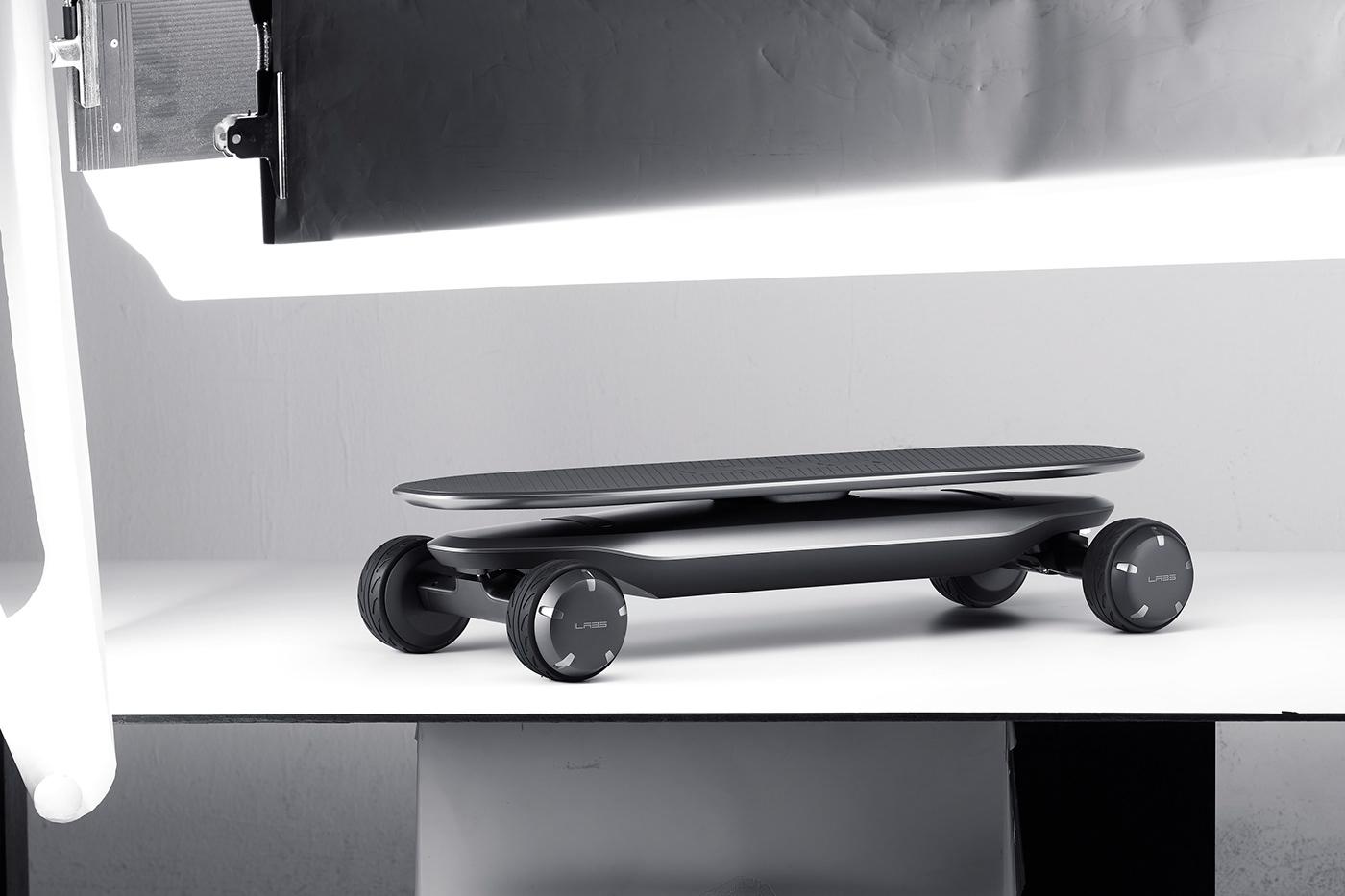 PLMM skateboard designed by VLND.