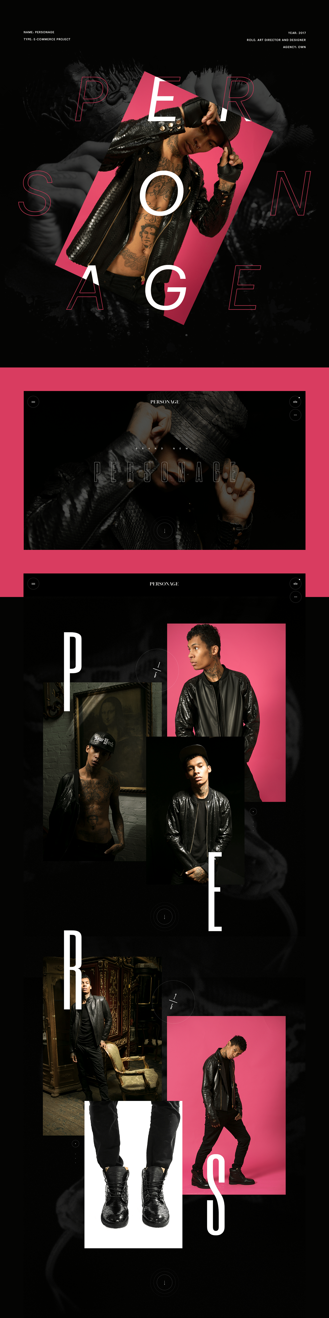e-store e-commerce snake jackets Fashion  hiphop