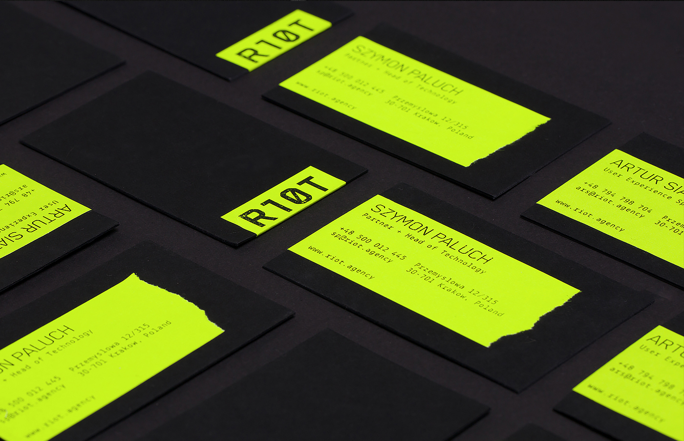 riot rebel Technology minimal stickers Glitch digital agency simple vibrant