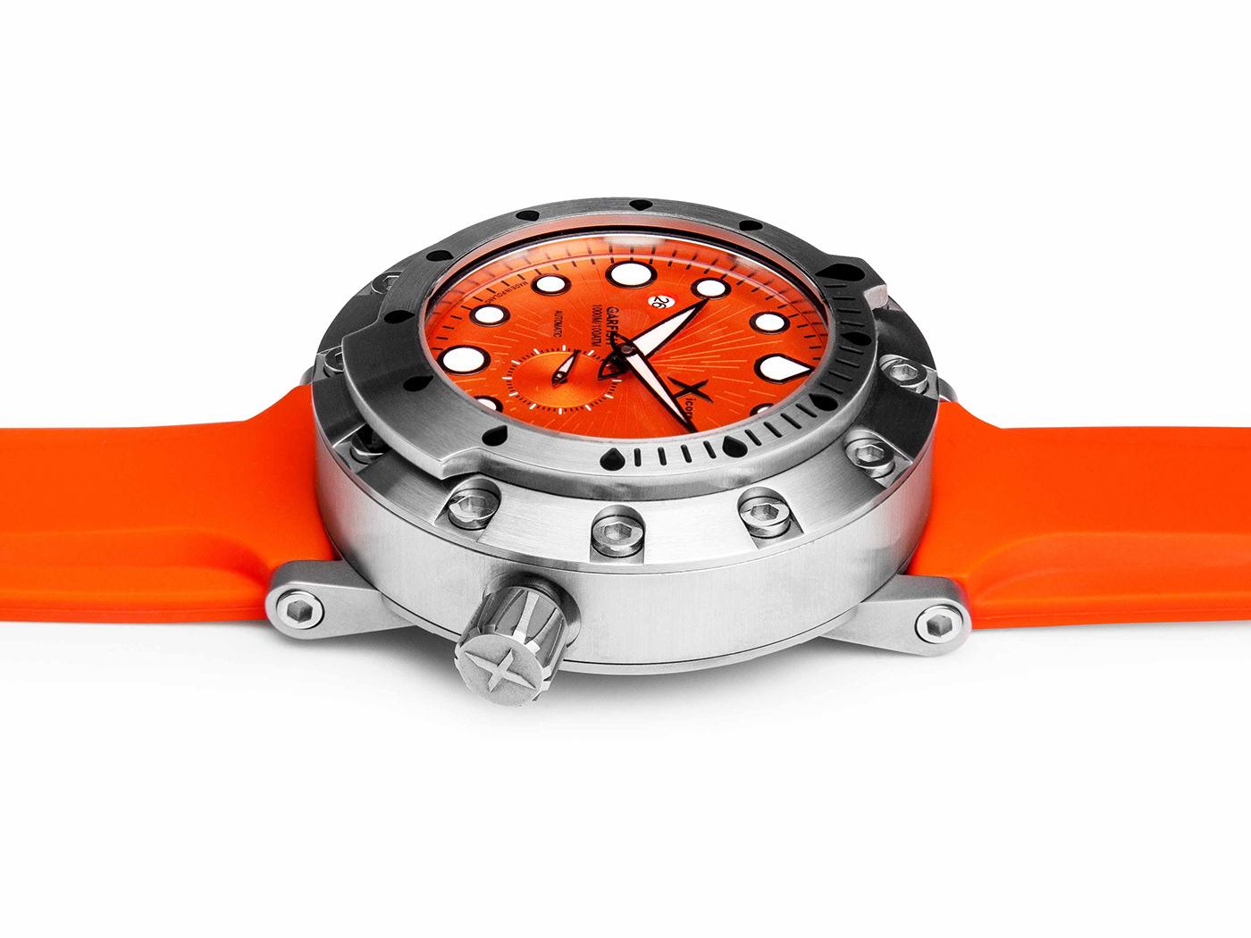 2sympleks design Garfish scuba diving watch diving diver sea snorkeling