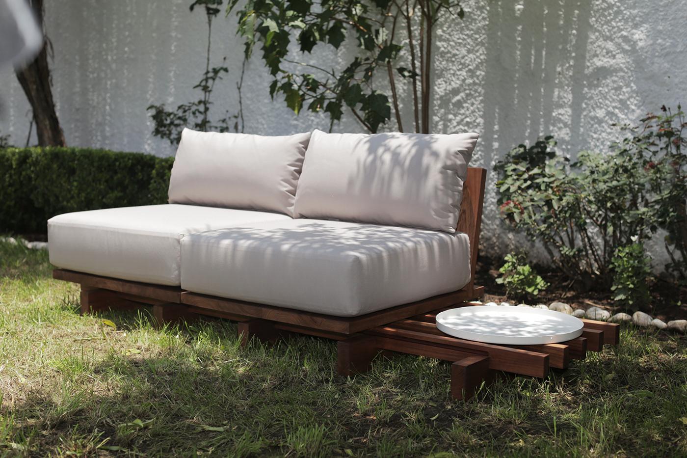 COVid furniture Garden Furniture industrial design  mexico monterrey outdoor furniture pool furniture