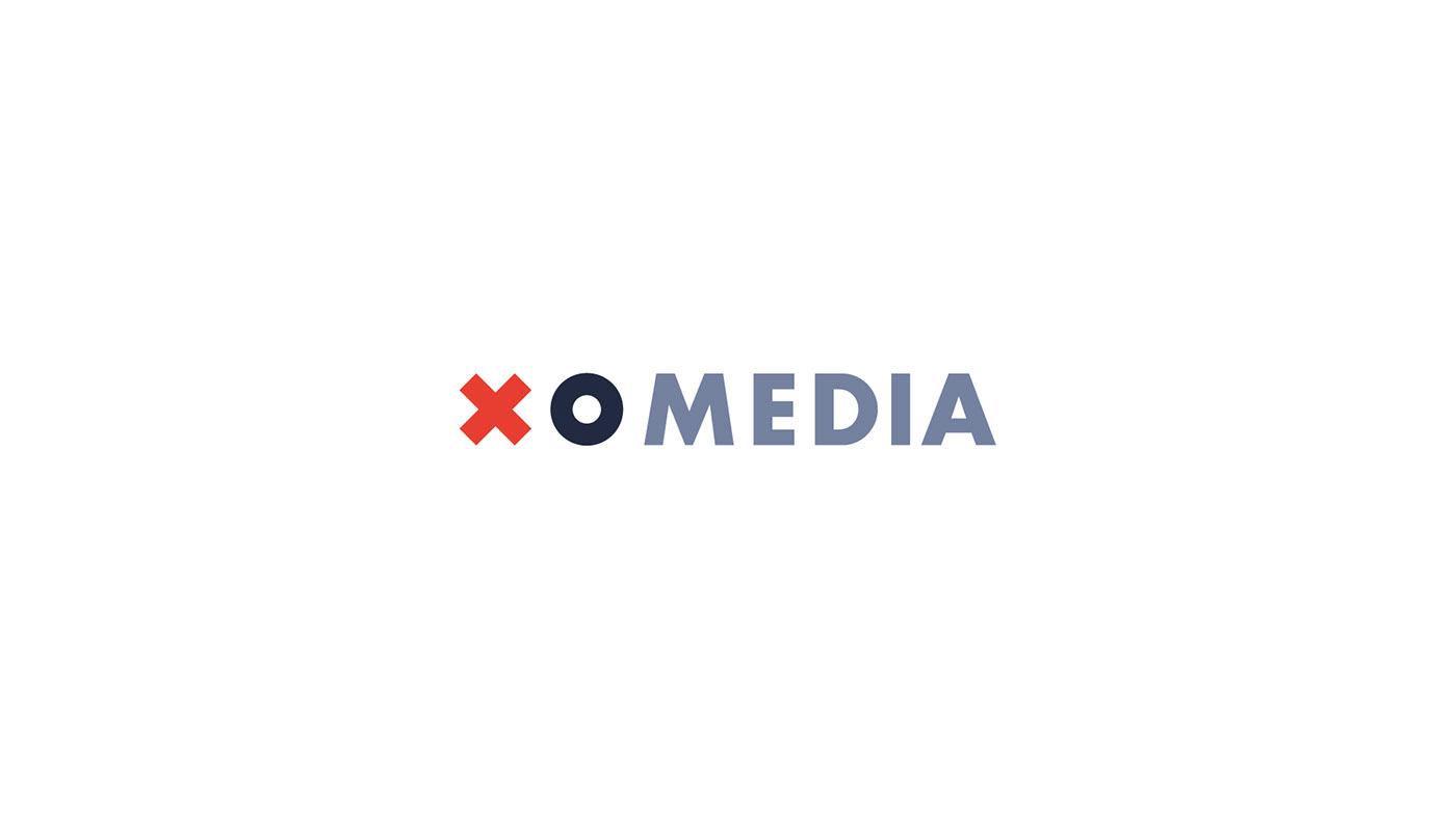 branding  xomedia visual identity brand wroclaw agency print Printed Materials brand vision xo