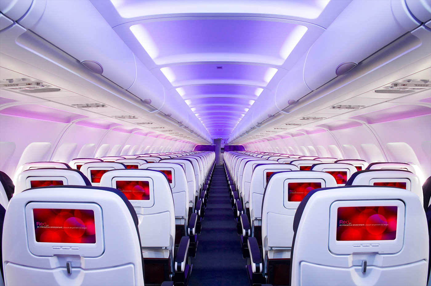 Virgin America Image Library On Behance