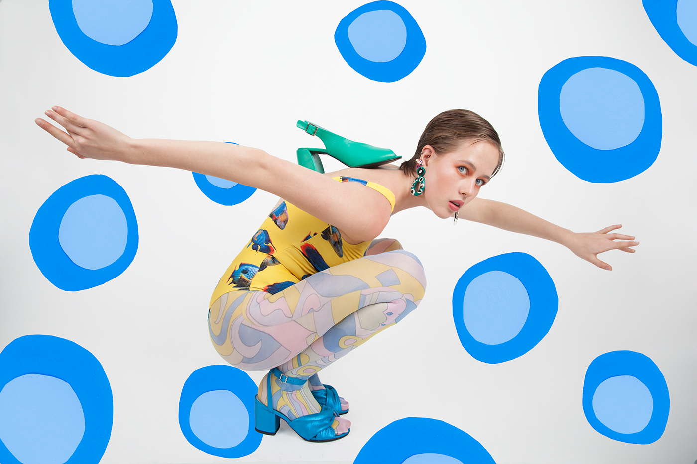 Photography  Fashion  color kling opart vogue