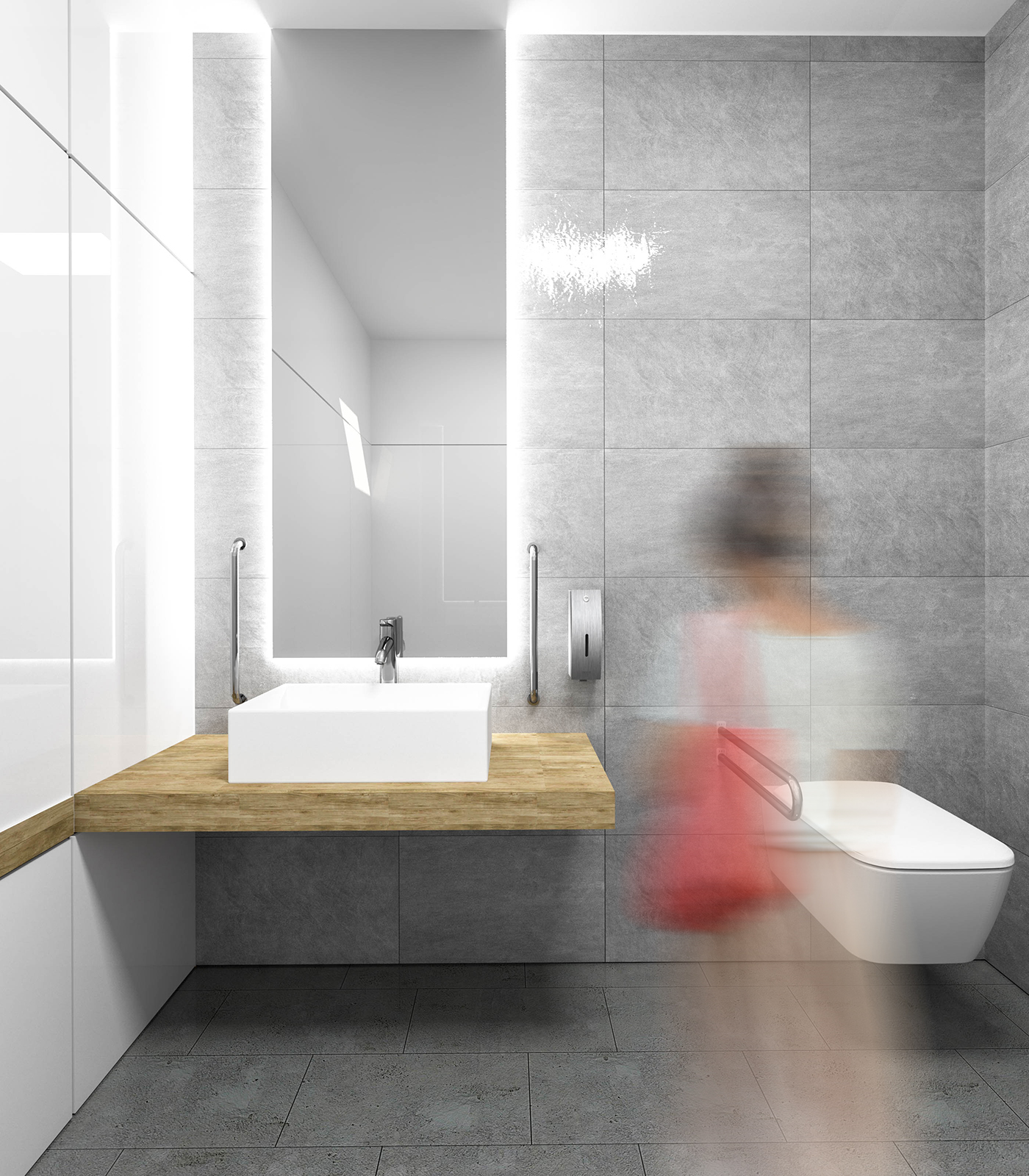 KOŁO Public Toilet Design Concept 2017 on Behance