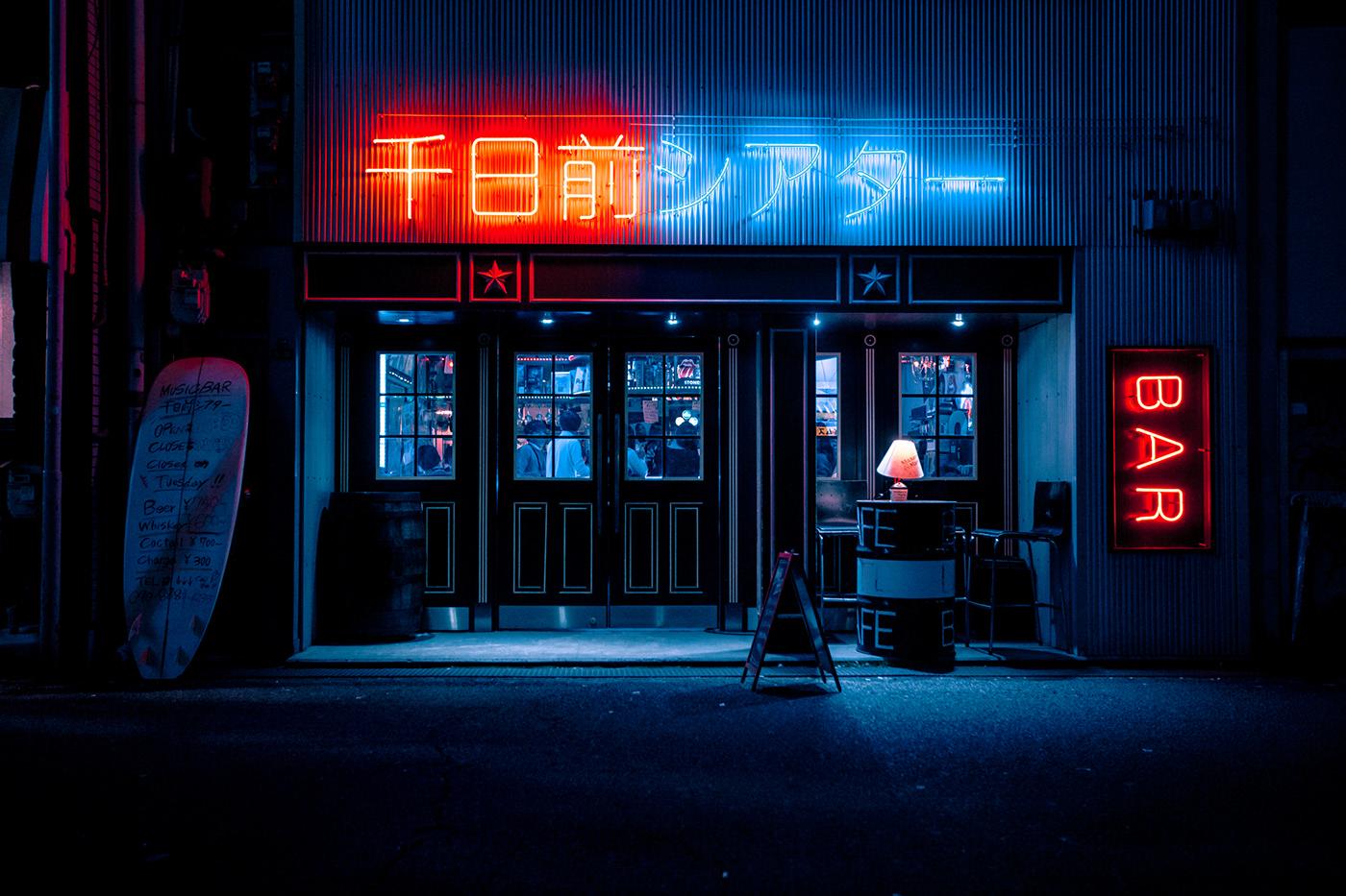Art Director cinematic Cyberpunk explore JAPON lightroom night photography Photography  Street tokyo
