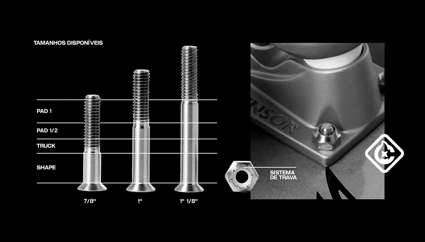 acessiores brand Brutalism hardware identity modern poster skate tools