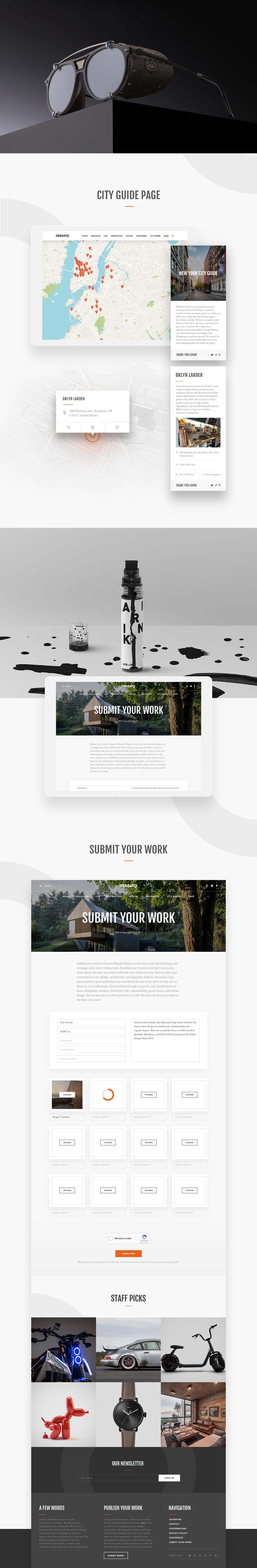 Website Freelance Blog magazine company architecture decor furniture Interior interior design