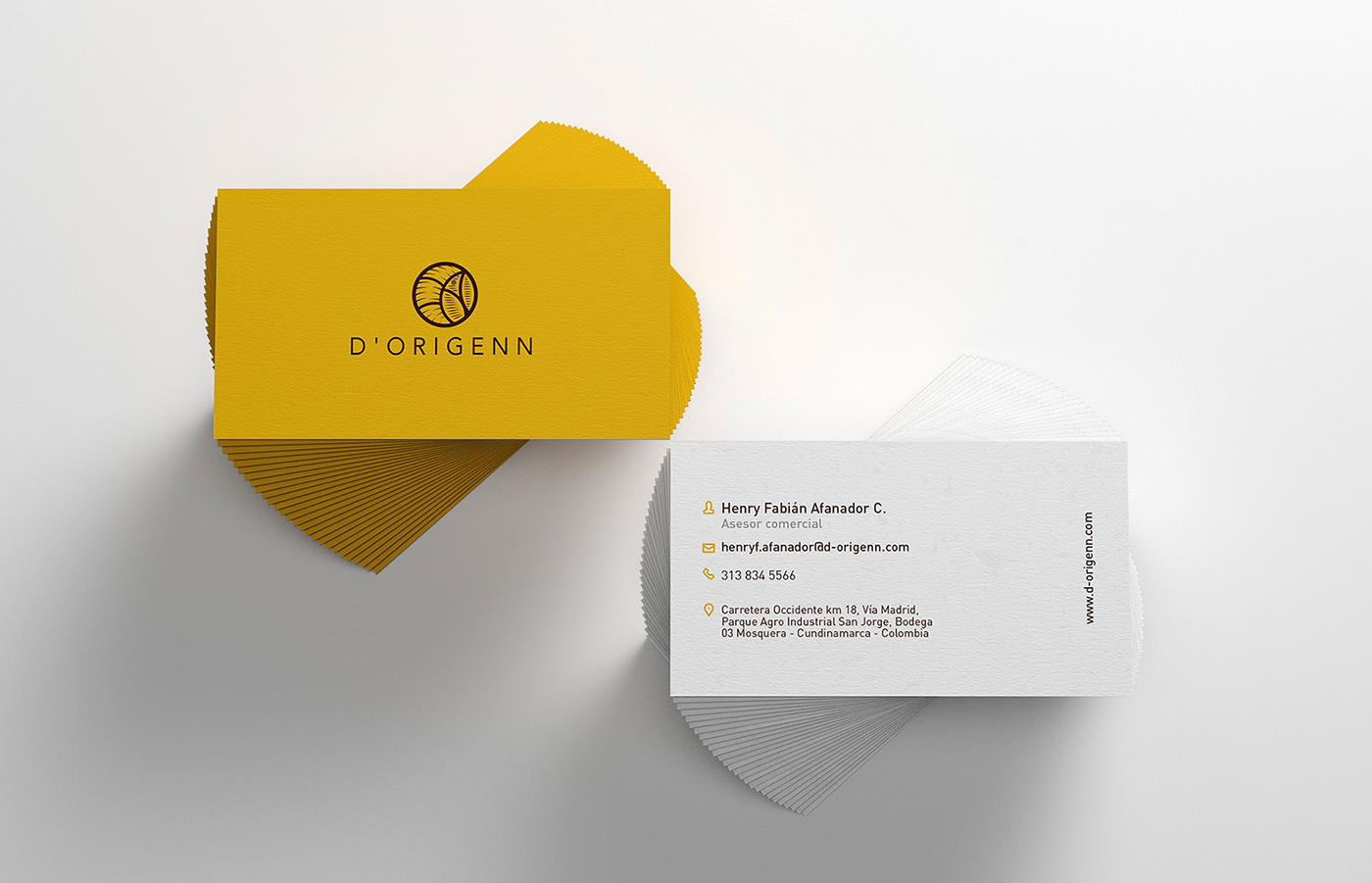 logo Coffee colombia ilustration david espinosa Dorigenn