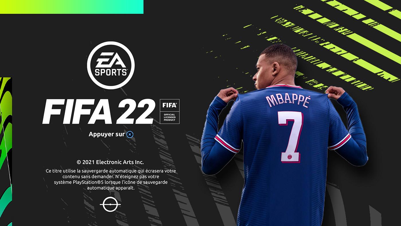 easports FIFA22 football
