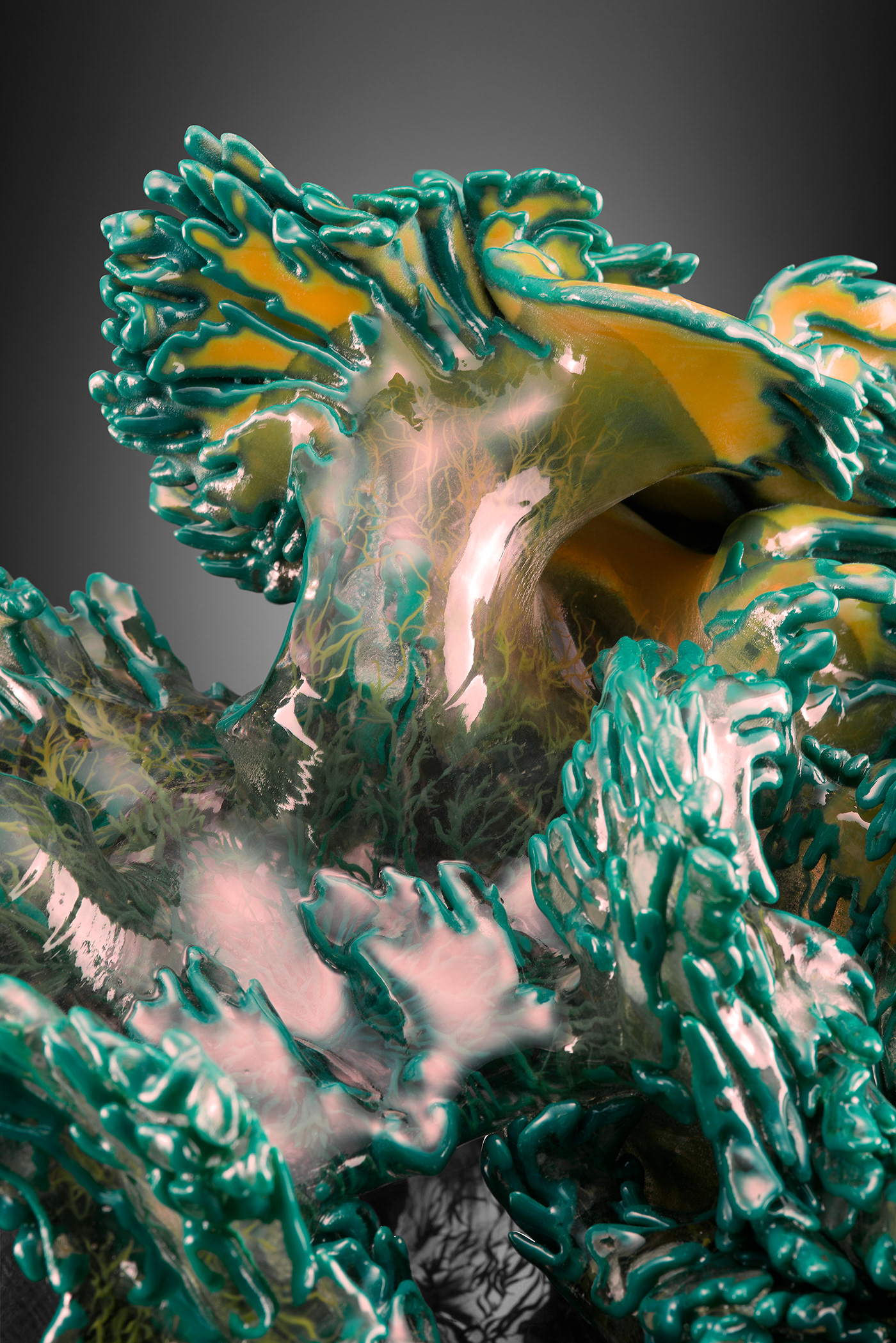 grow growth Growing Structures Neri Oxman MIT Mediated Matter stratasys 3d printing simulation Artifical Life synthetic biology generative art