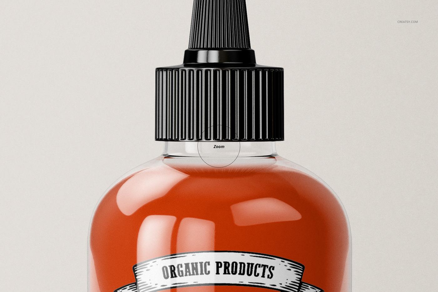 Download Sauce Bottle Mockup Set on Behance Free Mockups