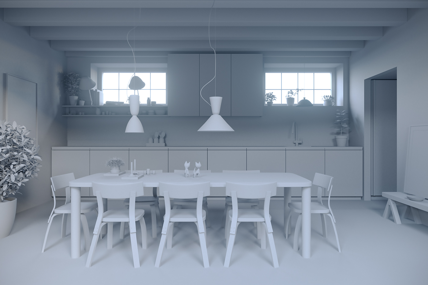 apartment Stockholm Minimalism