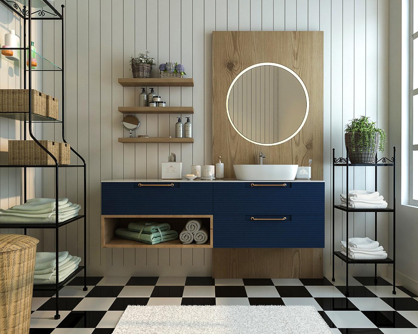 有美感的18款豪宅浴室欣賞