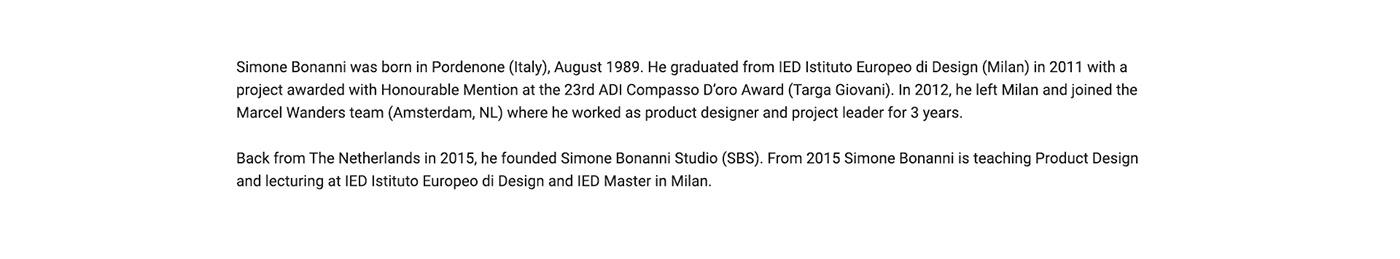 brand brand identity branding  ITALIAN PRODUCT DESIGNER product design  product design studio product designer SIMONE BONANNI visual identity