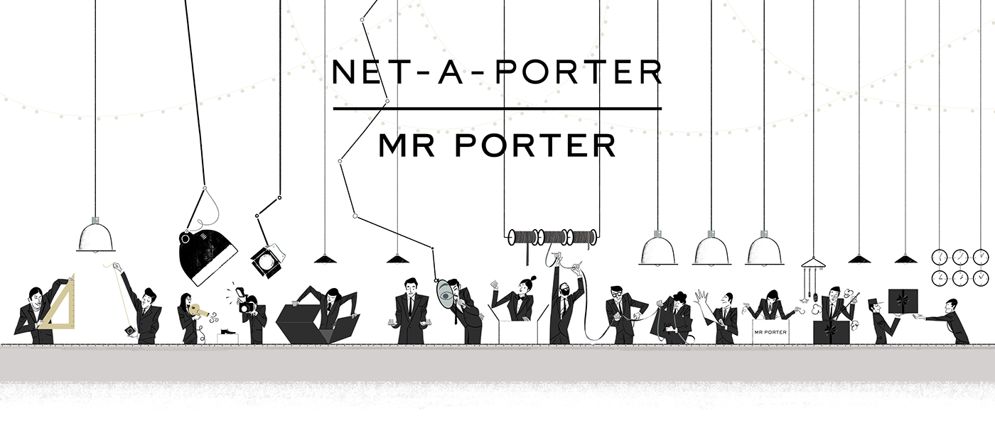 Mr porter net a porter christmas campaign 2016 on behance for Mr porter live
