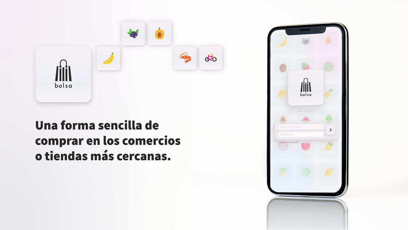 comercio local Project UI ux
