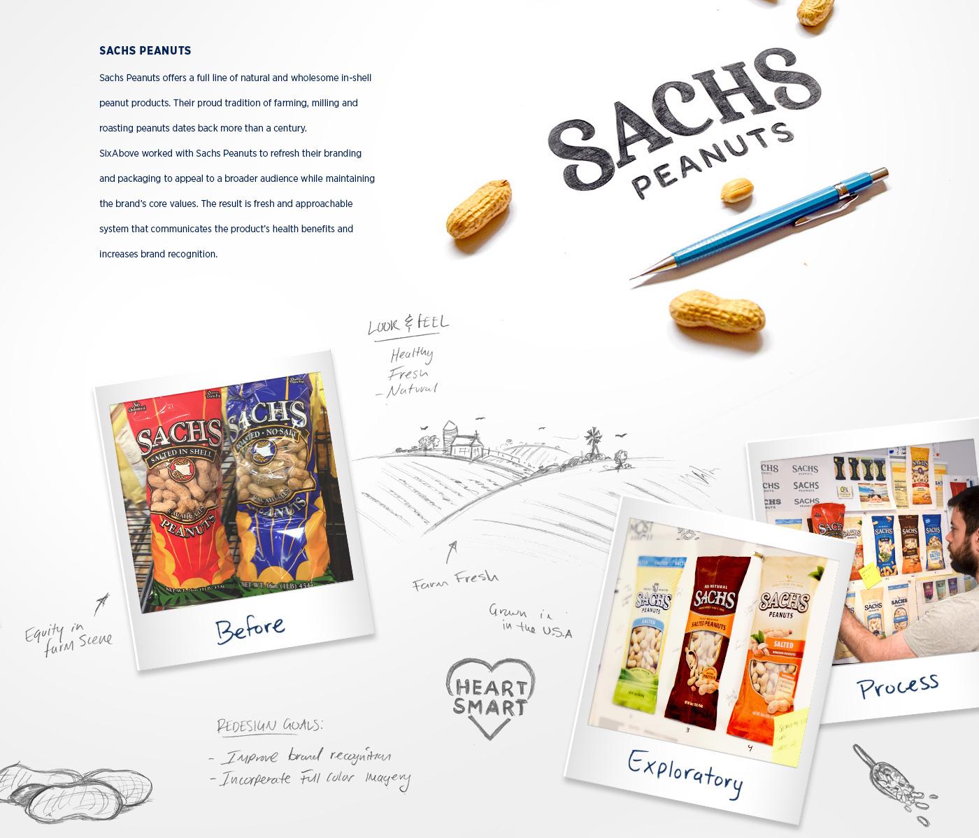 farm peaunts natural Food  snack cpg logo family
