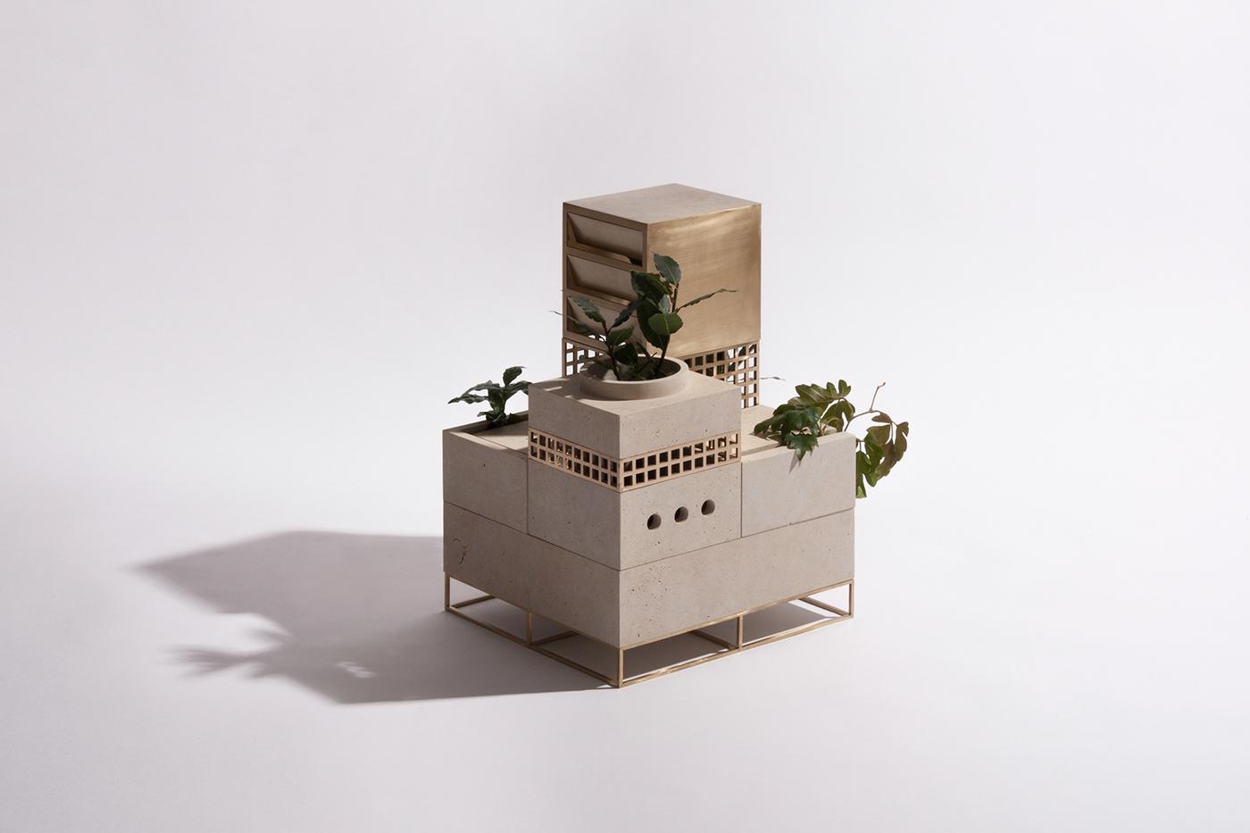 Plantscape plants brass limestone