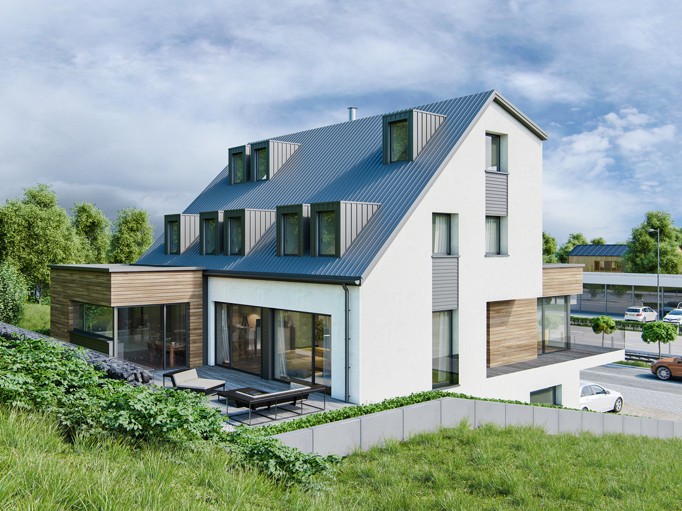 House in luxembourg on behance for Luxembourg homes