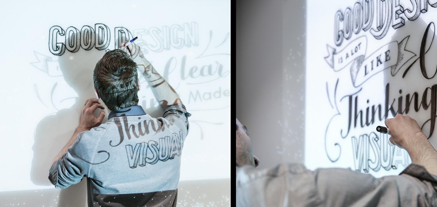 whiteboard Whiteboard marker typography   design inspiration dangerdust coworking artwork handdrawn