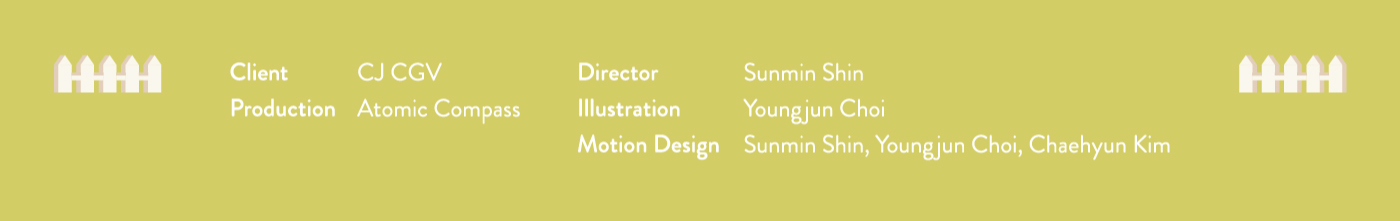 motiongraphic ILLUSTRATION  Character