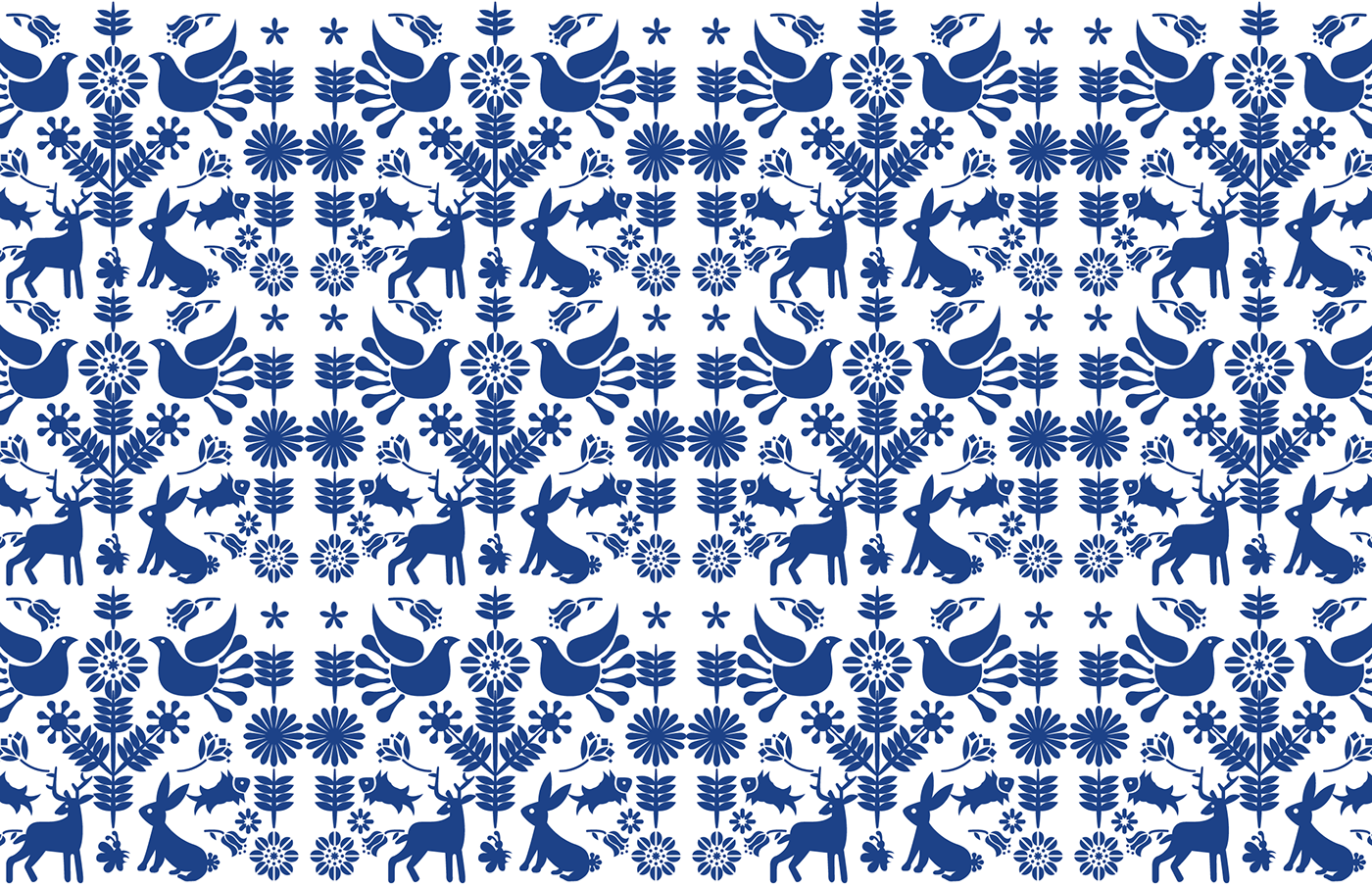 otomi pattern vector freebie 1 ink Full Color Illustrator
