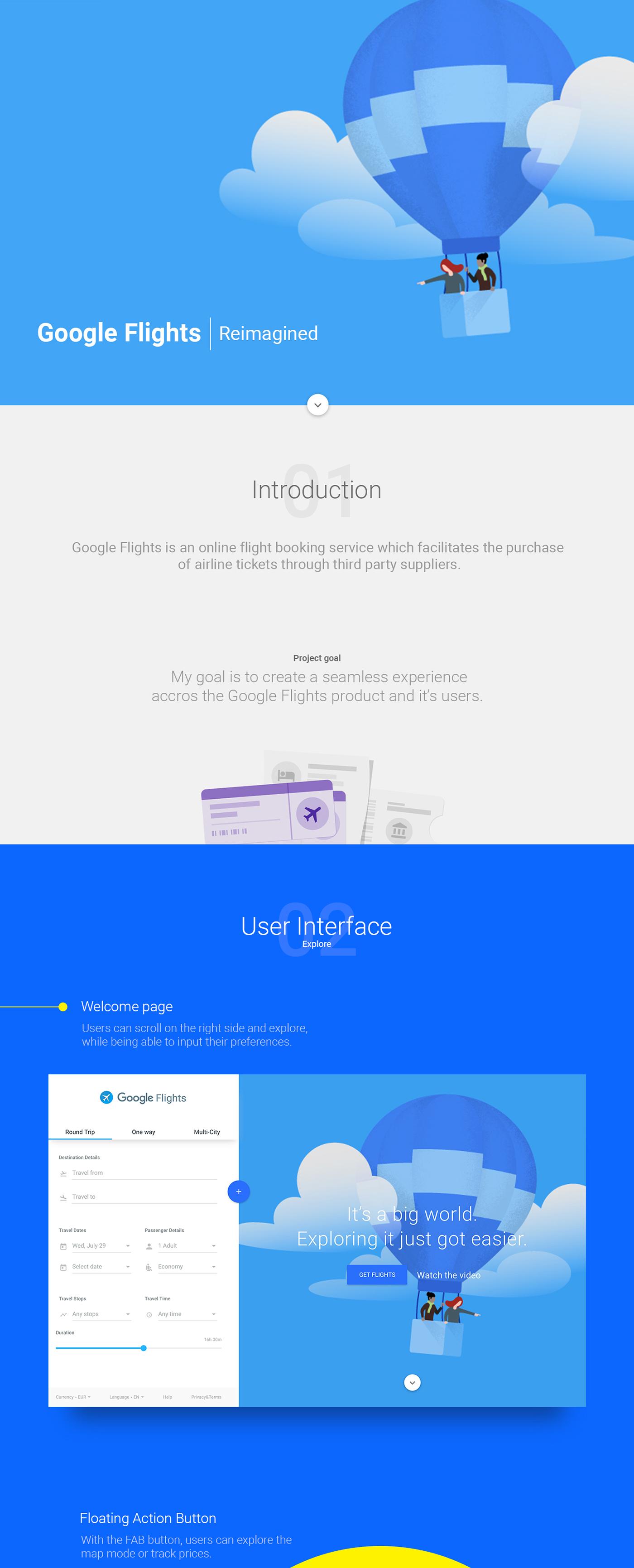 google,redesign,Travel,Flights,GOOGLE FLIGHTS,tickets,Booking