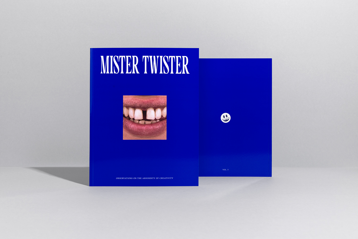 magazine Space  Mister Twister the adventures of typography   Independent publication