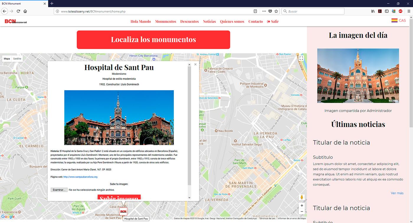 Ficha de los monumentos